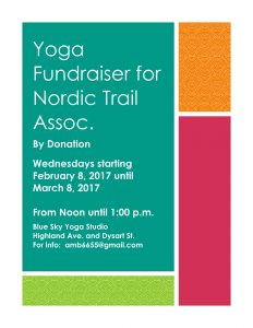 Yoga Fundraiser for Nordic Trail Assoc-1